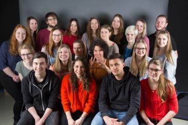 Studenten der Jade Hochschule